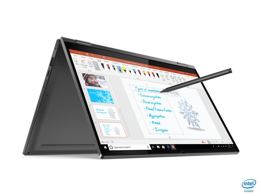 "Lenovo YOGA C640-13IML 2-IN-1 Core™ i7-10510U 1.8GHz 512GB SSD 8GB 13.3"" (1920x1080) TOUCHSCREEN BT WIN10 Webcam IRON GRAY Backlit Keyboard"