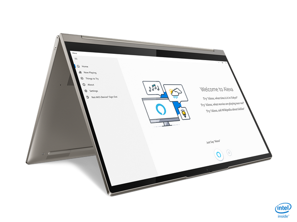 "Lenovo YOGA C940-14IIL 2-IN-1 Core™ i5-1035G4 1.1 / 3.7GHz 512GB SSD 16GB 14"" (1920x1080) TOUCHSCREEN BT WIN10 Pro Webcam SILVER Backlit Keyboard FP Reader"