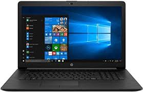"HP 17-by1053 Core™ i5-8265U 1.6GHz 256GB SSD 8GB 17.3"" (1600x900) DVD-RW BT WIN10 Webcam JET BLACK"