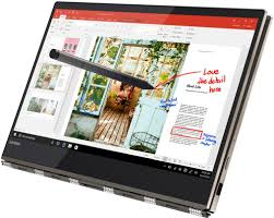 "Lenovo YOGA 920-13IKB 2-IN-1 Core™ i7-8550U 1.8GHz 256GB SSD 8GB 13.9"" FHD TOUCHSCREEN BT WIN10 Webcam"
