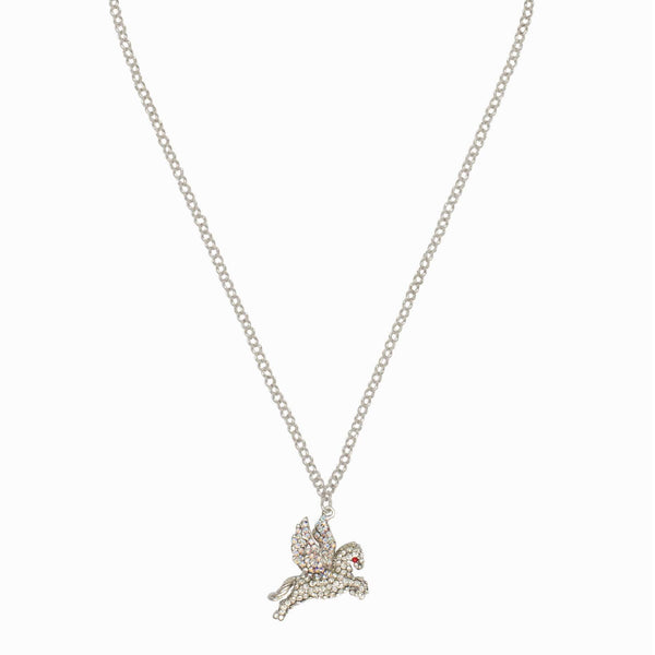 Crystal Pegasus Necklace