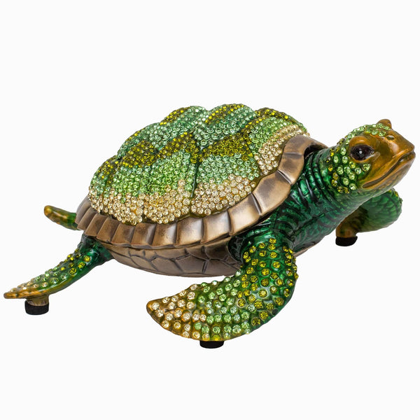 Large Crystal Turtle Ornament