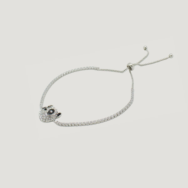 Adjustable Panda Bracelet