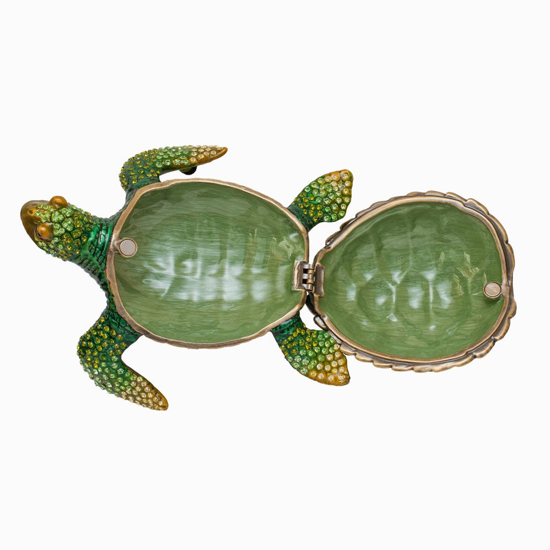 Crystal Turtle Ornament