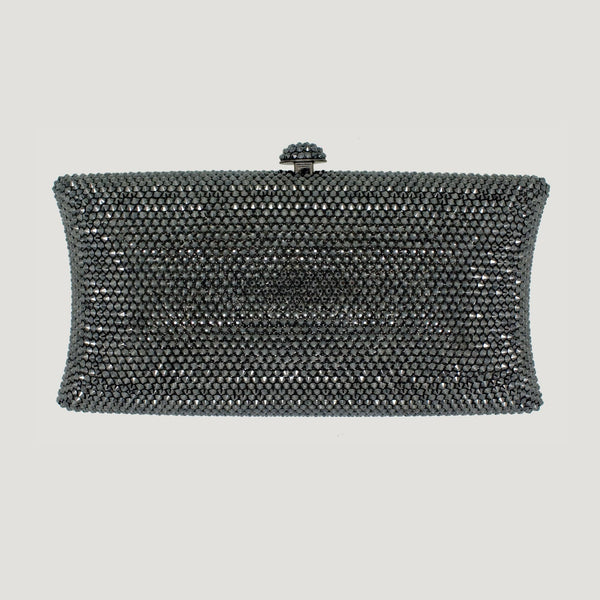 Crystal Rectangle Clutch Bag
