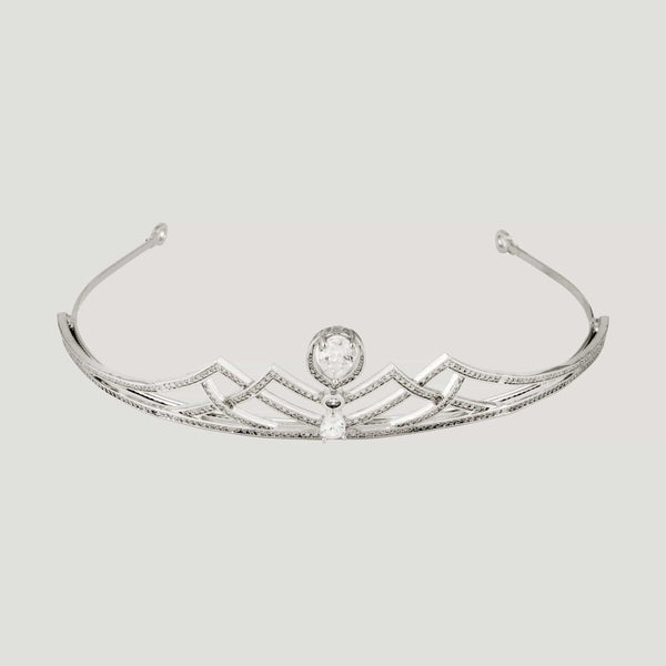 Crystal Art Deco Tiara