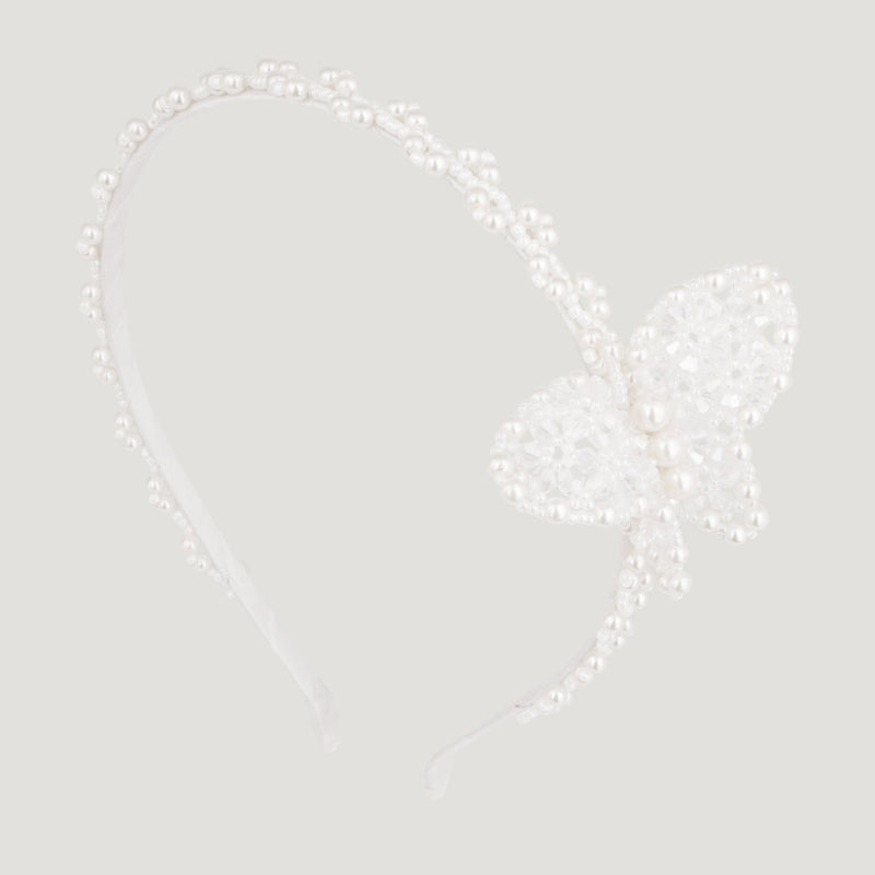 Butterfly & Pearl Hairband