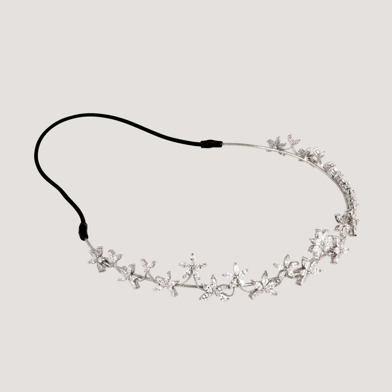 Crystal Flowers Hairband