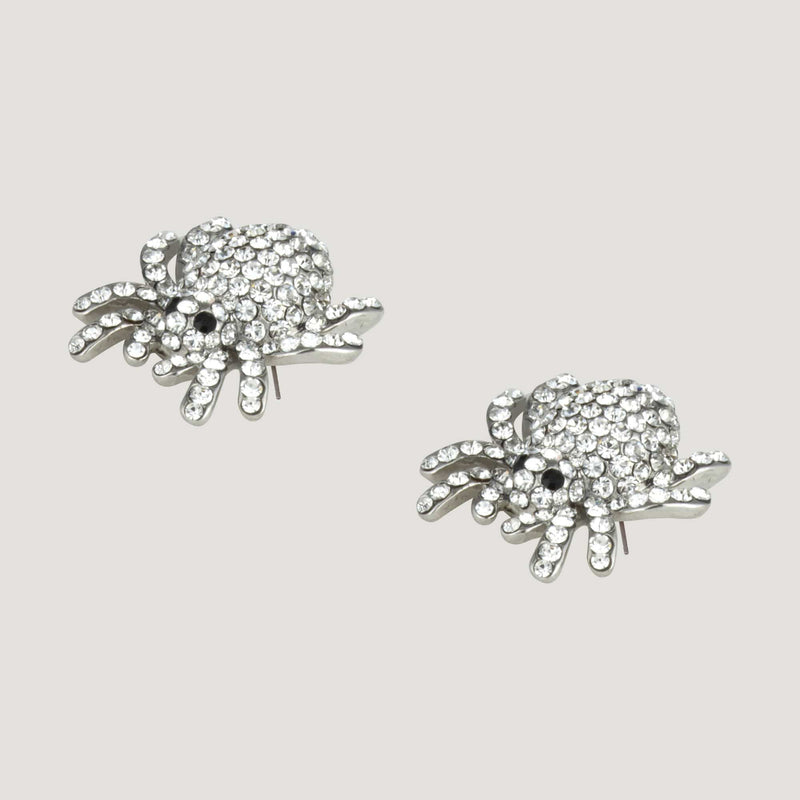 Spider Stud Earrings