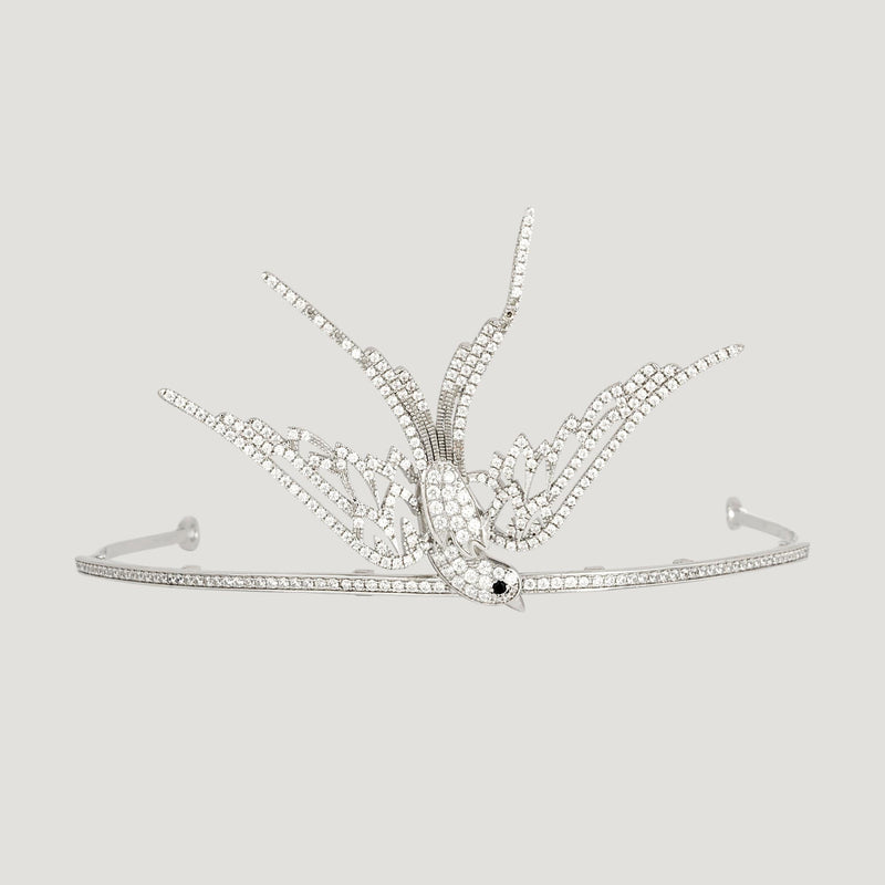 Crystal Swallow Tiara