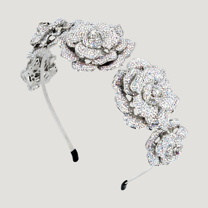Couture 5 Rose Headband