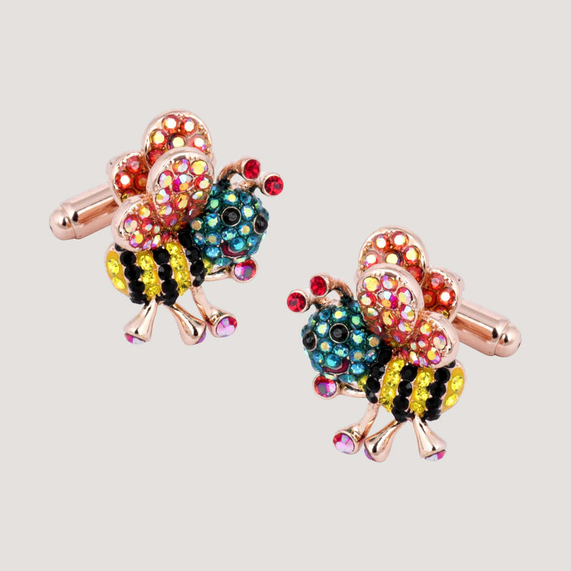 Honey Bee Cufflinks
