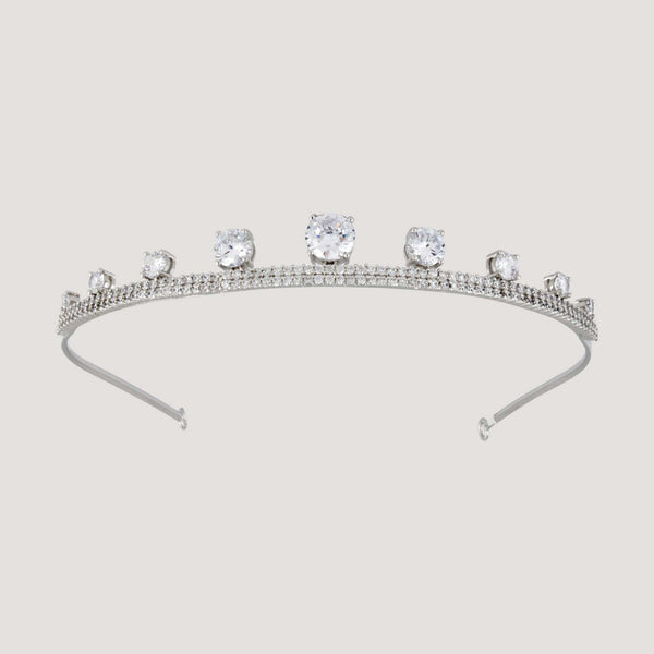 Adjustable Crystal Gem Headband