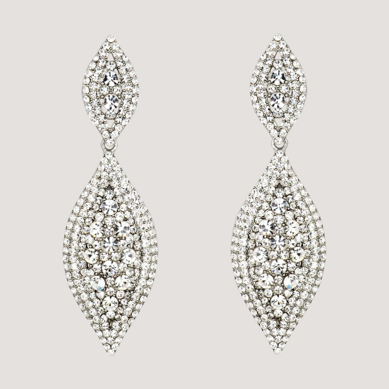 Pointed Teardrop Earrings