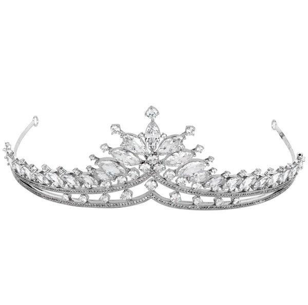 Pointed Crystal Tiara