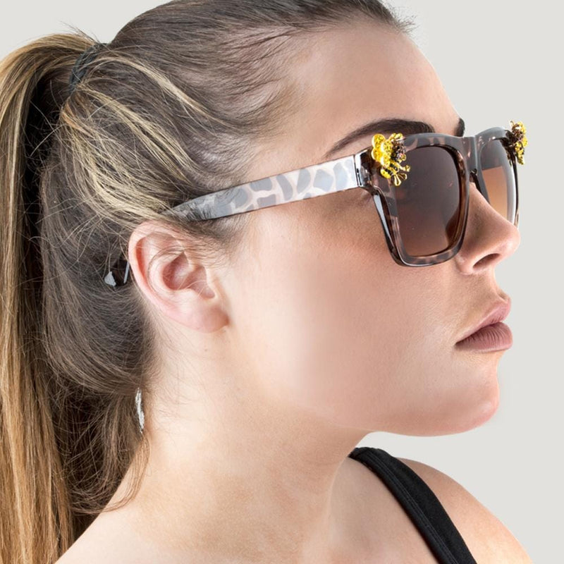 B&W Bee Sunglasses