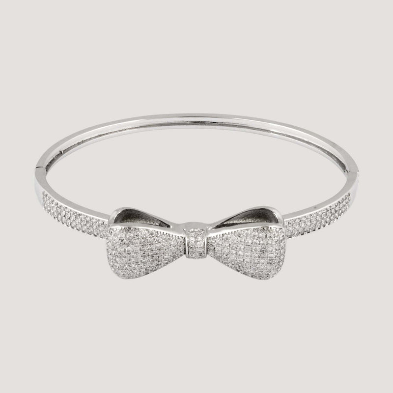 Crystal Bow Bangle