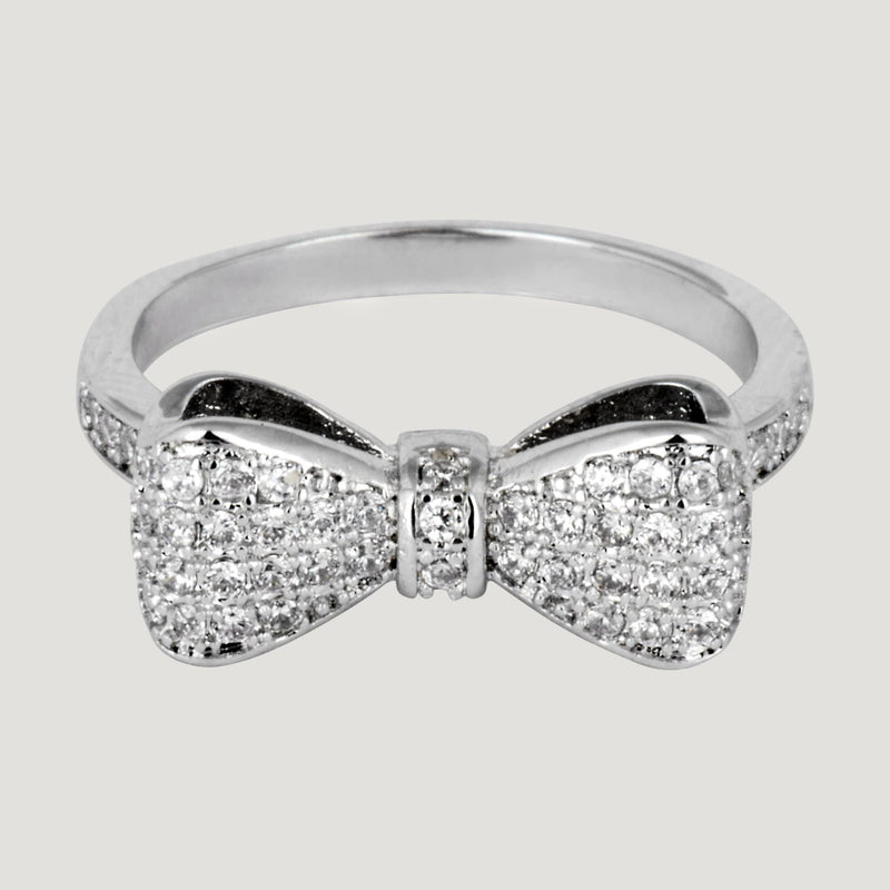 Crystal Bow Ring