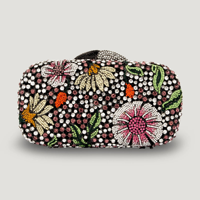 Flowers Crystal Bag
