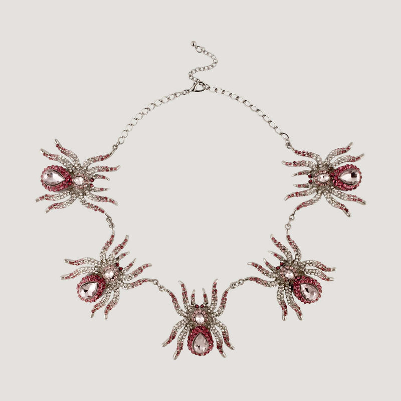 Hanging Spider Necklace