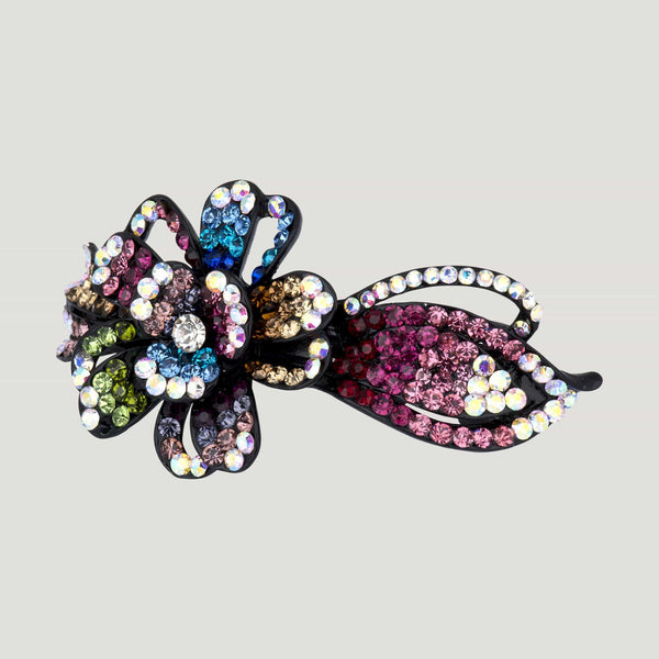 Crystal Flower Vine Hairclip