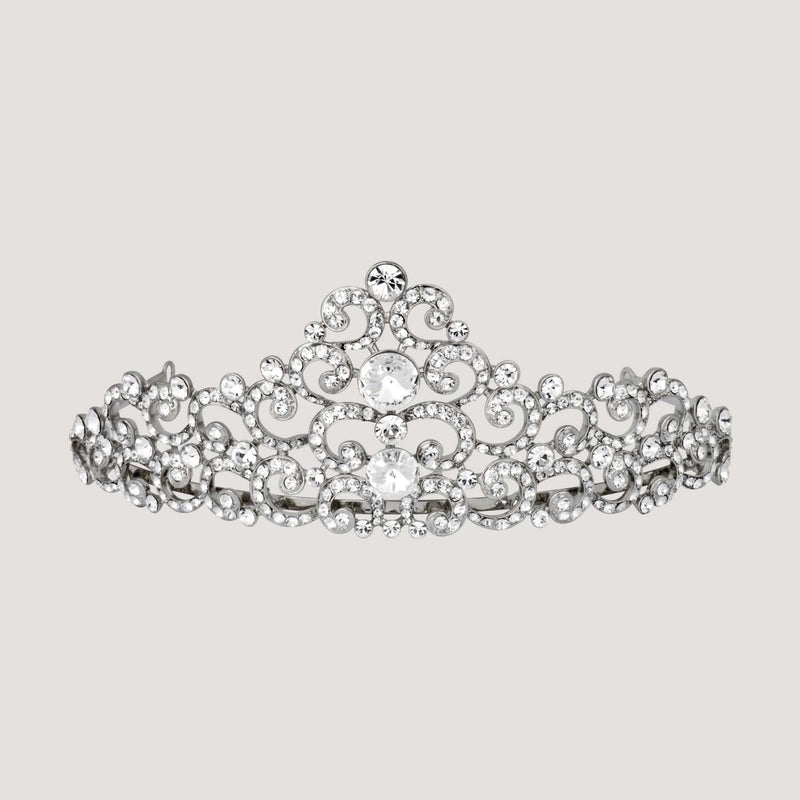 Crystal Crescent Tiara