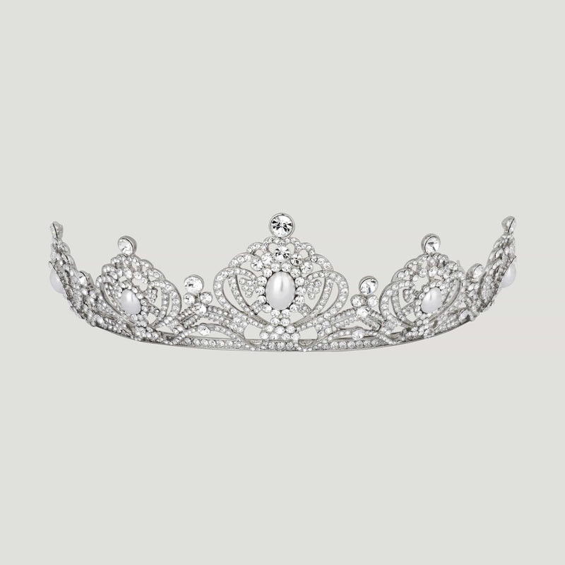 Ornate Crystal Tiara