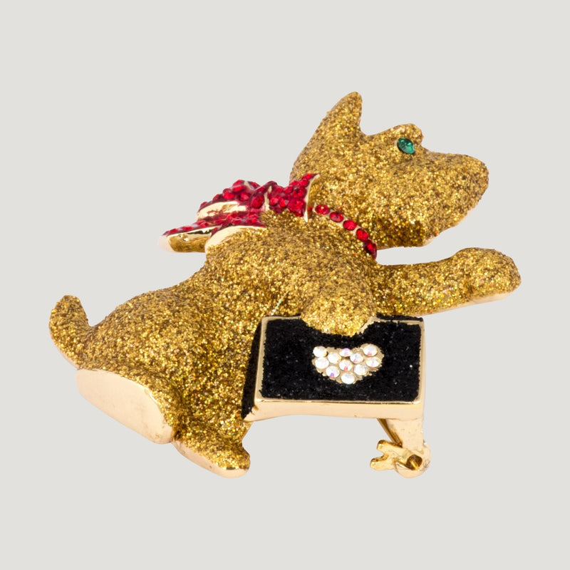 Westie Dog Brooch