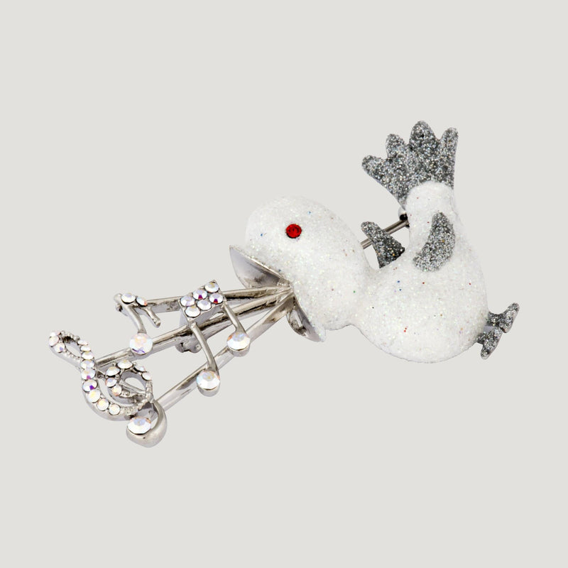 Musical Bird Brooch