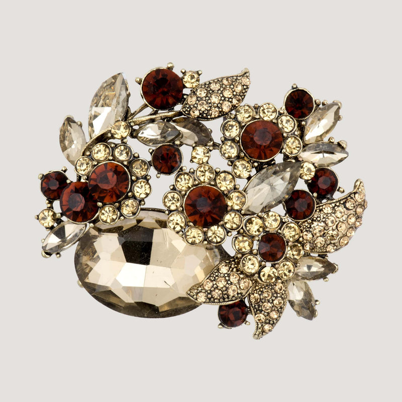Ornate Jewelled Brooch
