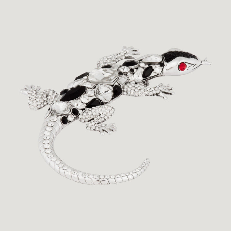 Statement Crystal Lizard Brooch