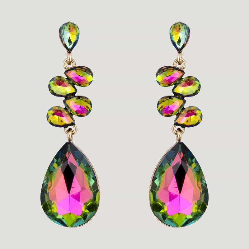 Multi Chandelier Drop Earrings
