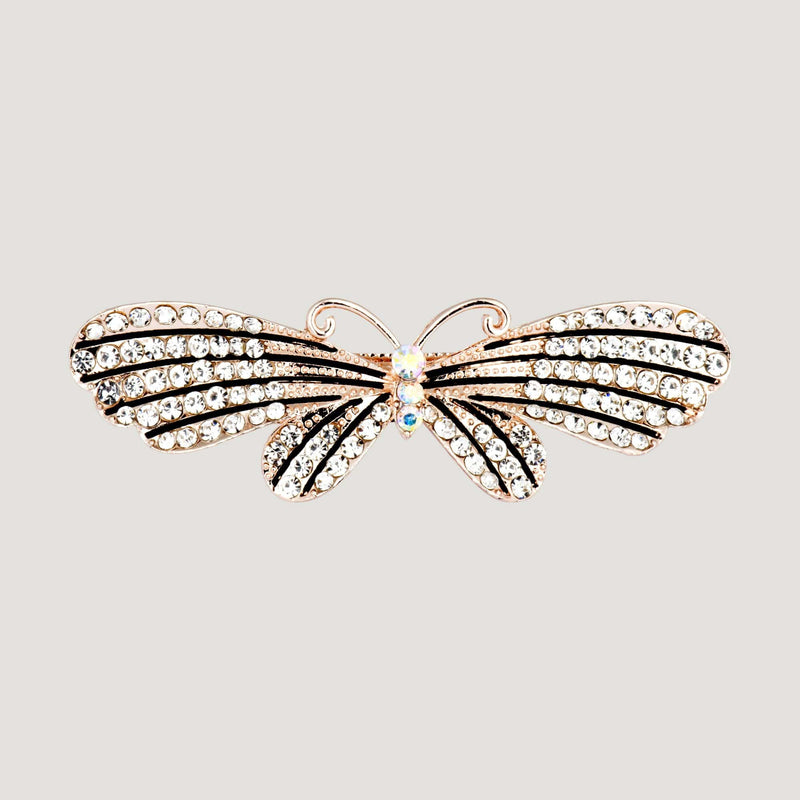 Crystal Moth Hairclip