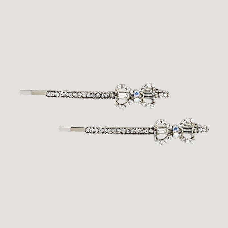Delicate Bow Twinset Hairslides