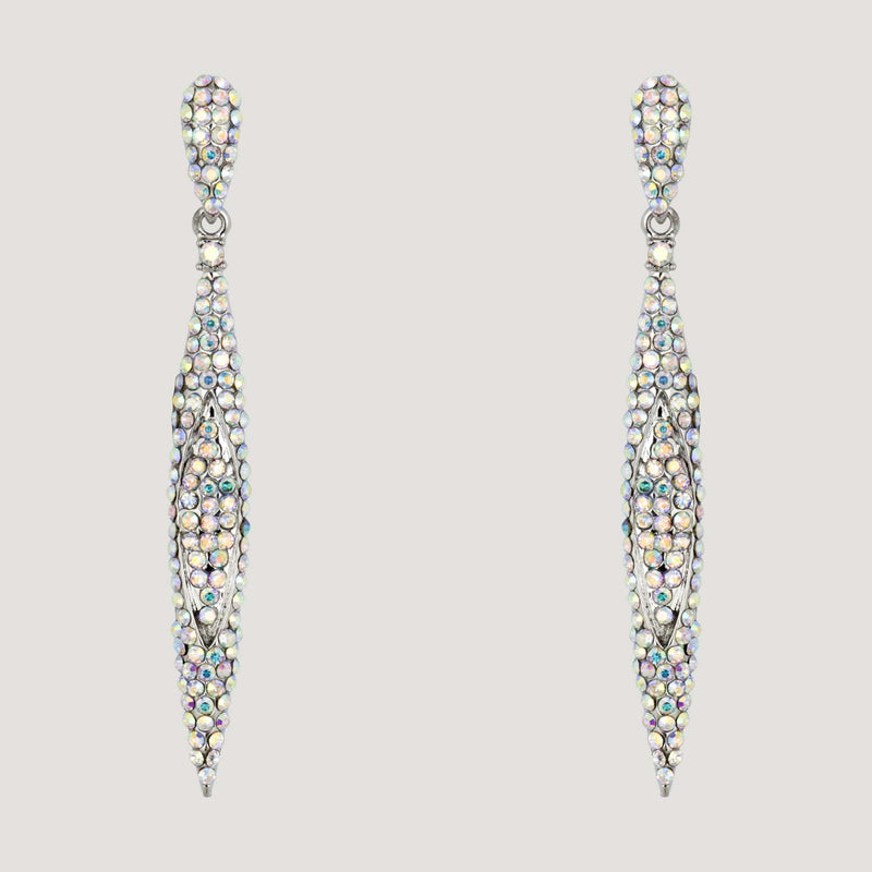 Pointed Drop Earrings