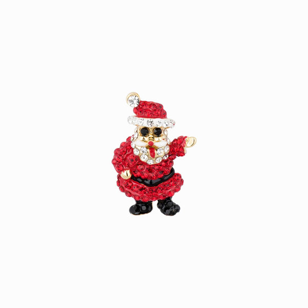Mini Father Christmas Brooch