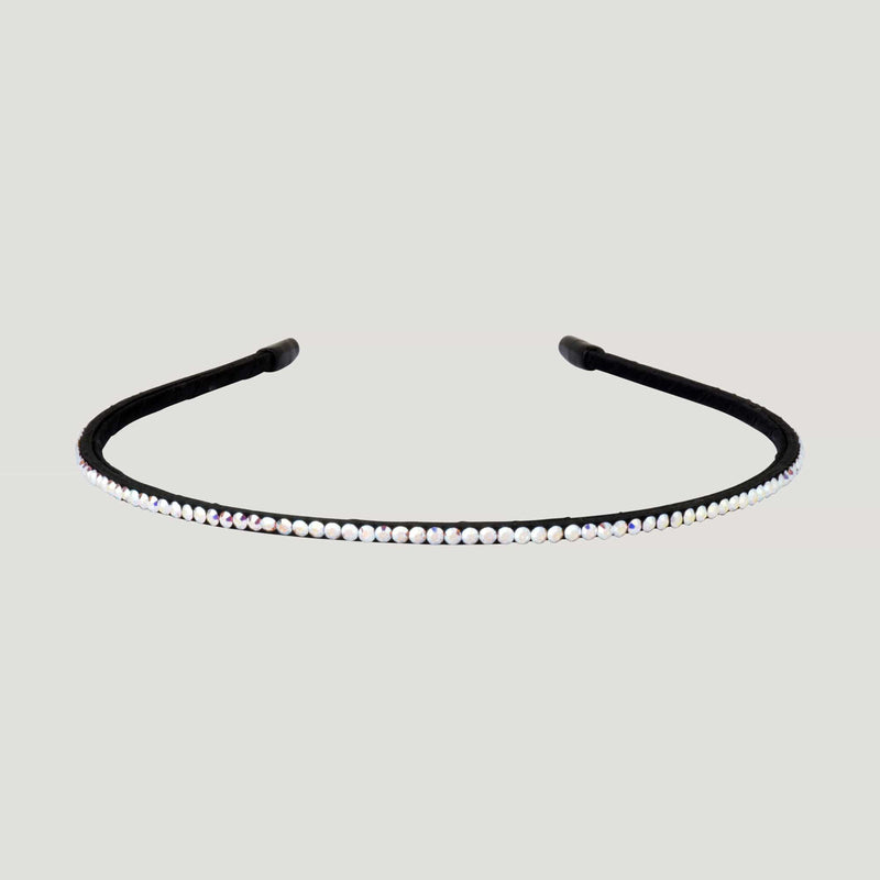 Single Mini Crystal Row Hairband