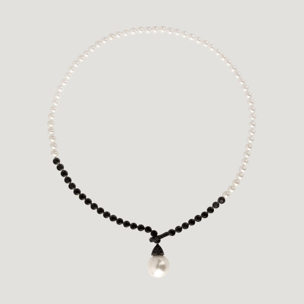 Pearl Pendant Strand Necklace