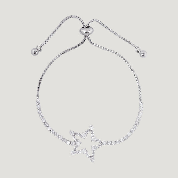 Crystal Star Adjustable Bracelet