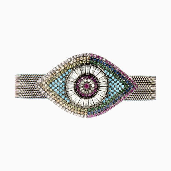 Crystal Eye Adjustable Bracelet