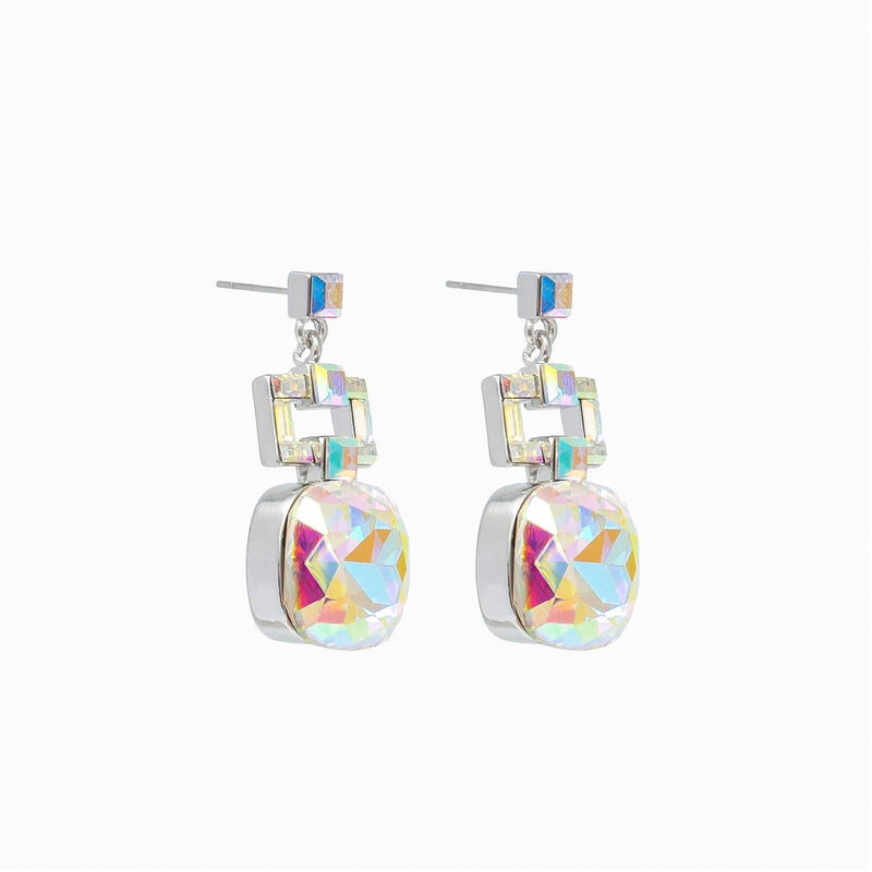 Butler and Wilson Art Deco style drop earrings
