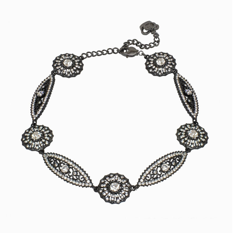 Art Deco Filigree Necklace