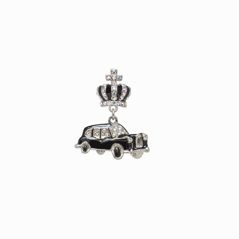 Miniature London Taxi Clutch Pin Brooch