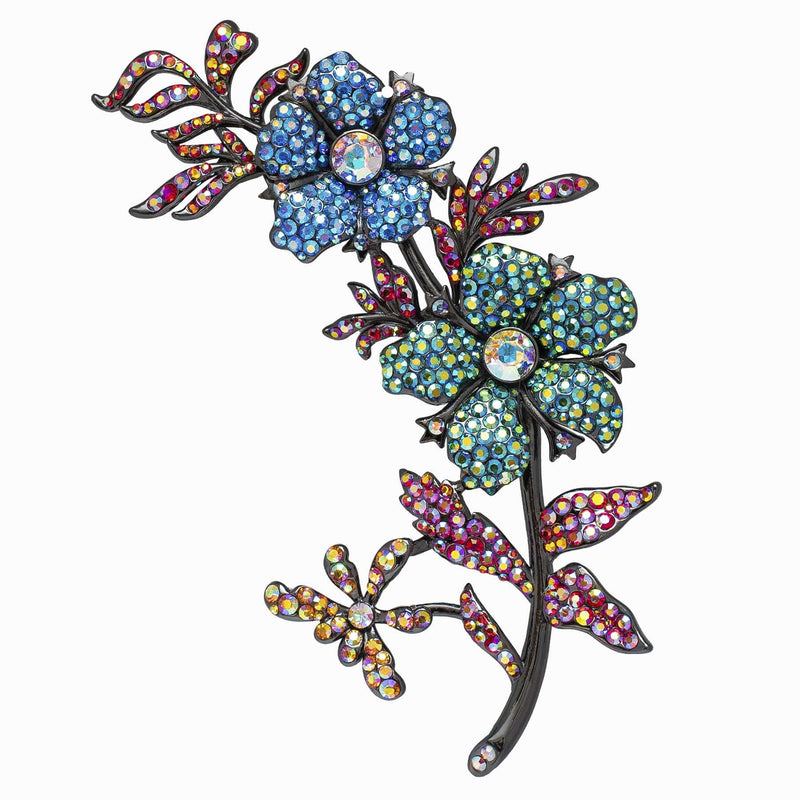 Large Trailing Flowers Brooch