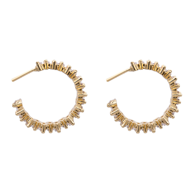 Double Flower Wrap Gold Ring with Ruby and Diamond