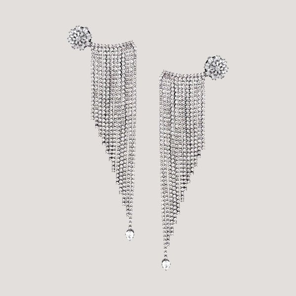 Crystal Shower Earrings