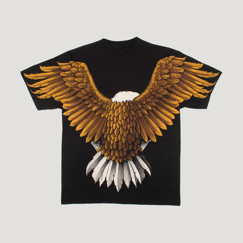 Hand Stitched Rock Eagle T-Shirt