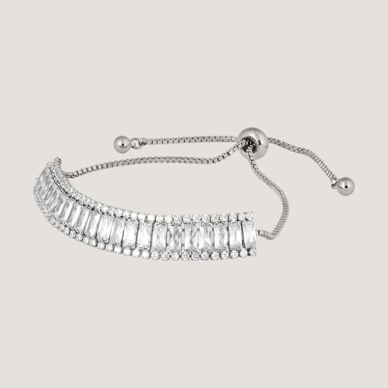 Baguette Crystals Friendship Bracelet