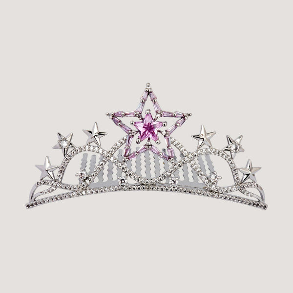 Crystal Stars Haircomb