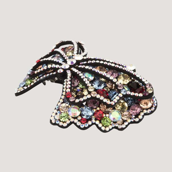 Crystal Butterfly Hairclip